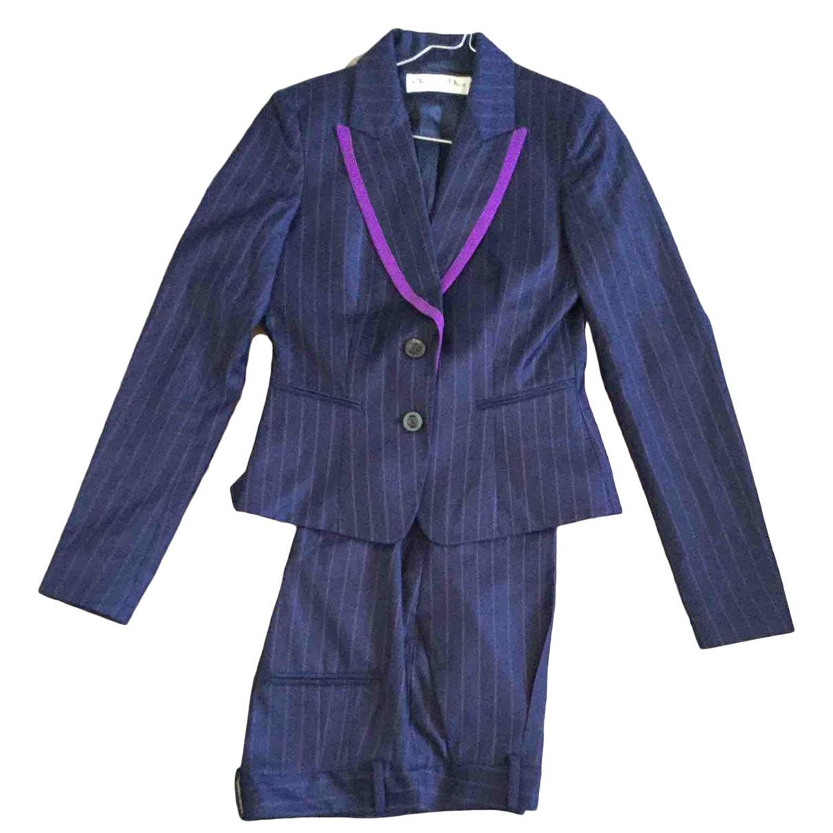 Dior \N Blue Wool jacket for Women 38 FR