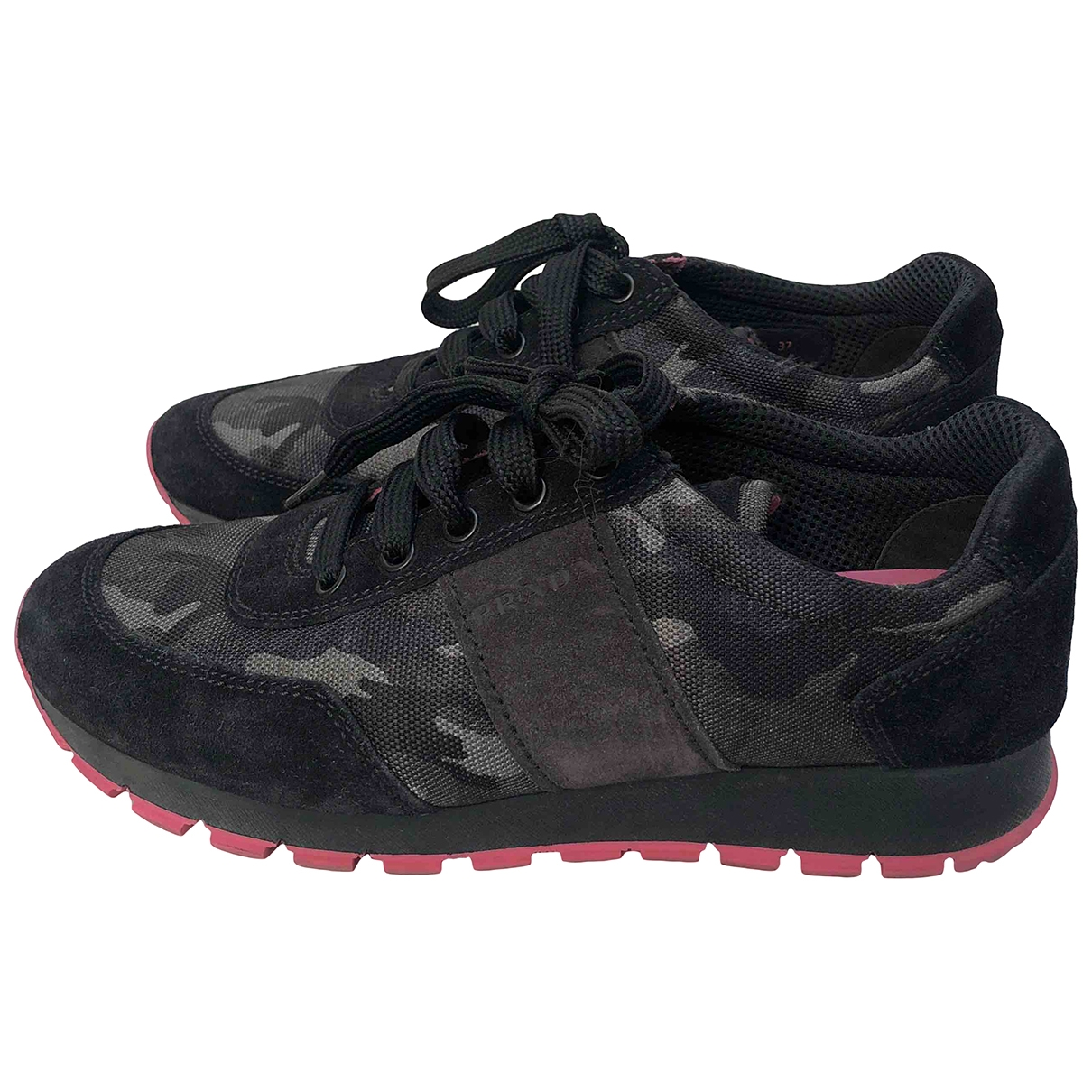 Prada \N Black Cloth Trainers for Women 37 EU
