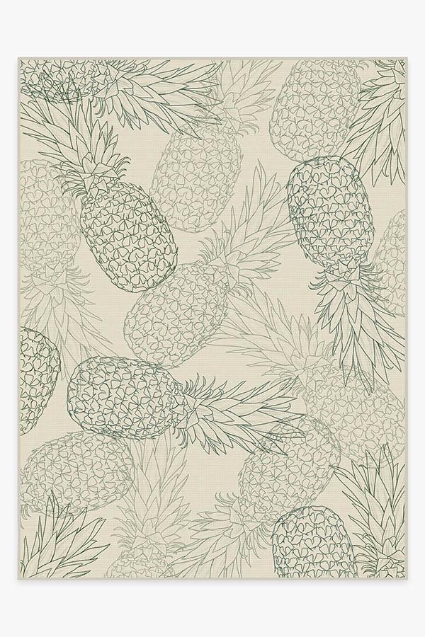Washable Rug Cover & Pad | Pina Jade Rug | Stain-Resistant | Ruggable | 9'x12'