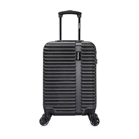 InUSA Ally Hardside 20 Inch Carry-on Luggage, One Size , Black