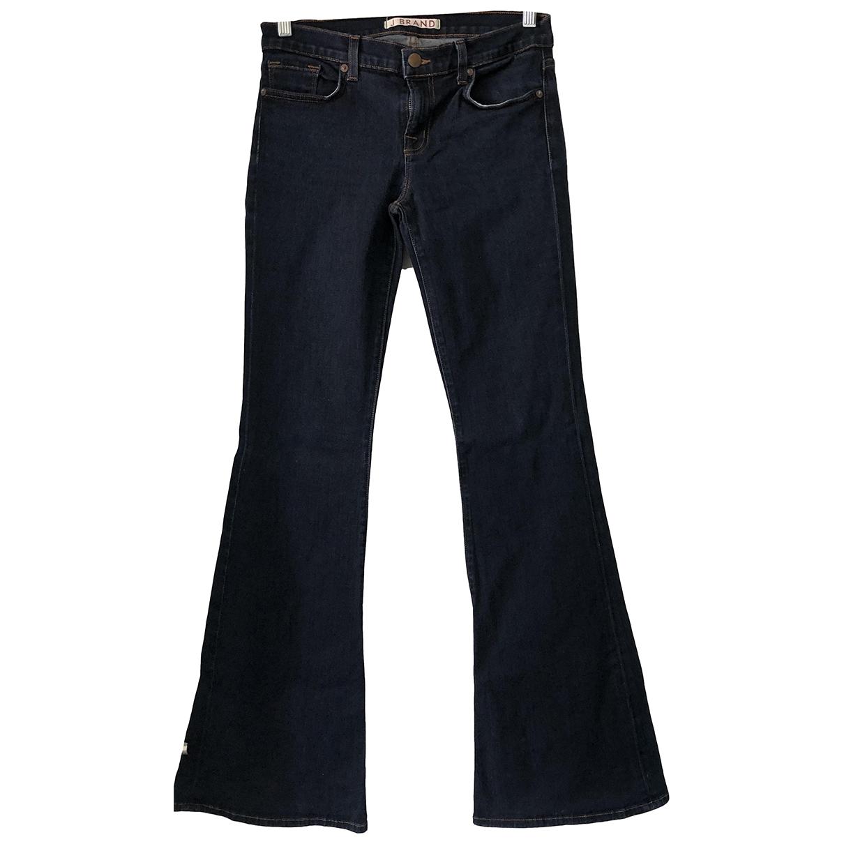 J Brand \N Jeans in  Blau Baumwolle - Elasthan