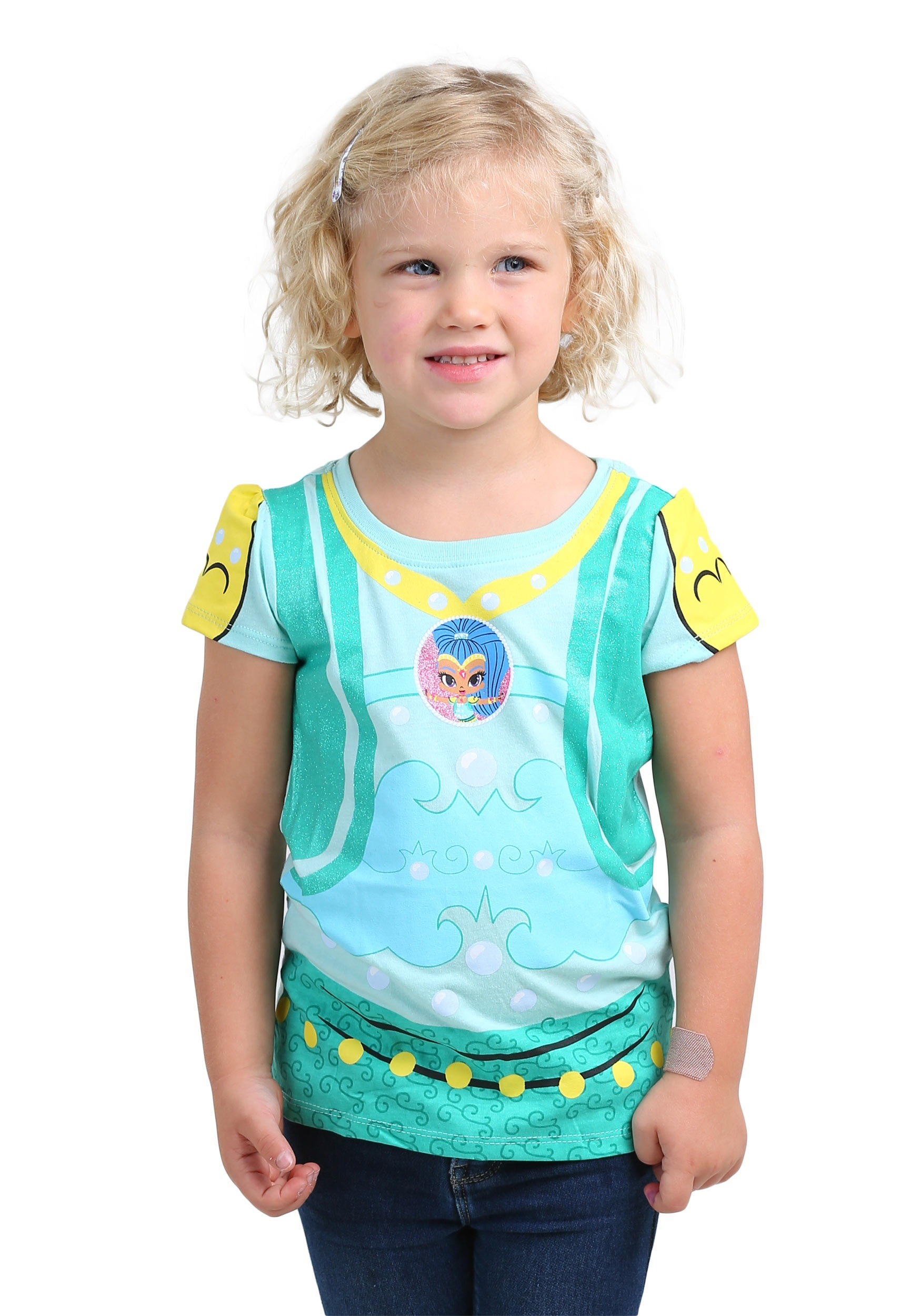 Shimmer and Shine Costume T-Shirt for Toddler Girls