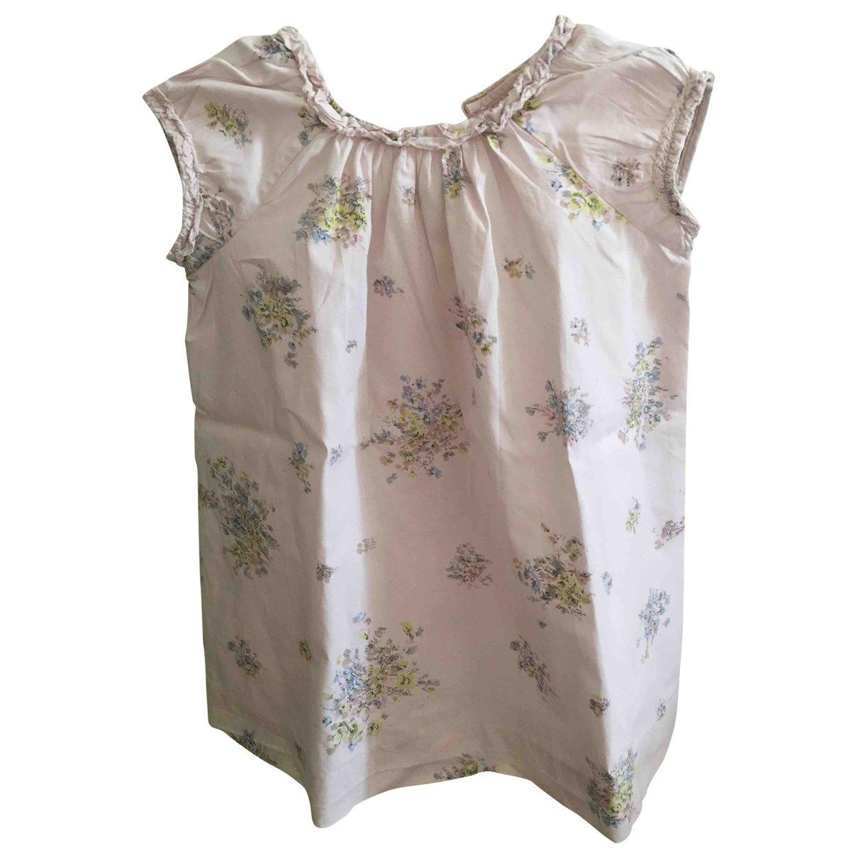 Bonpoint - Robe    pour enfant en coton - rose