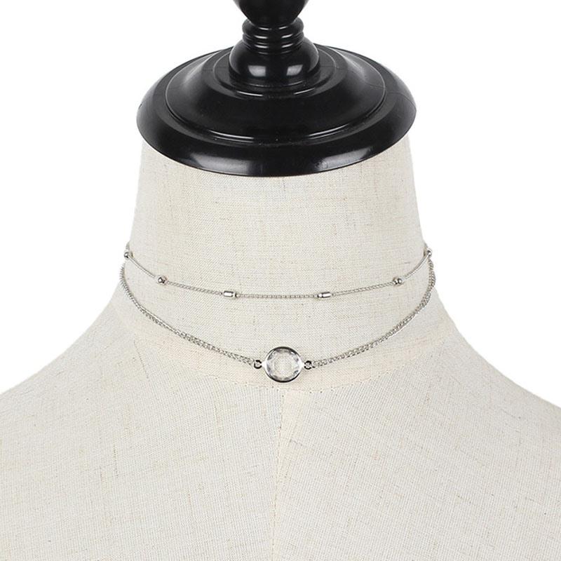 Ericdress Diamante Choker Vintage Female Necklaces