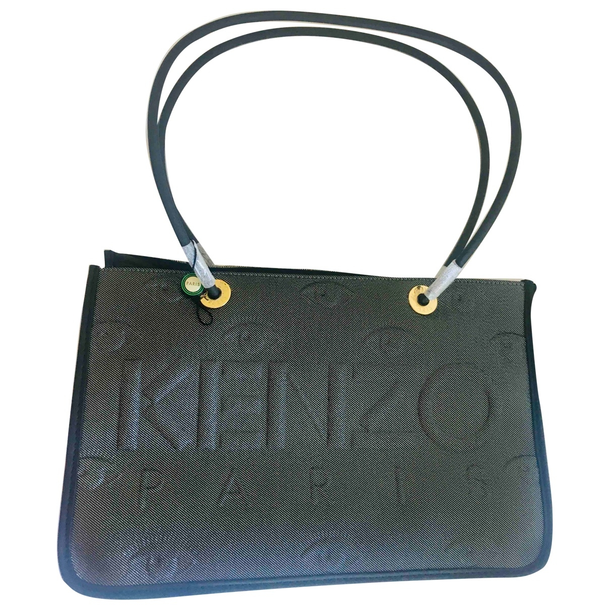 Kenzo \N Gold Cloth handbag for Women \N