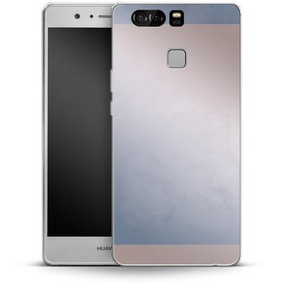 Huawei P9 Silikon Handyhuelle - Serenity Rose Quartz Geometry von Emanuela Carratoni