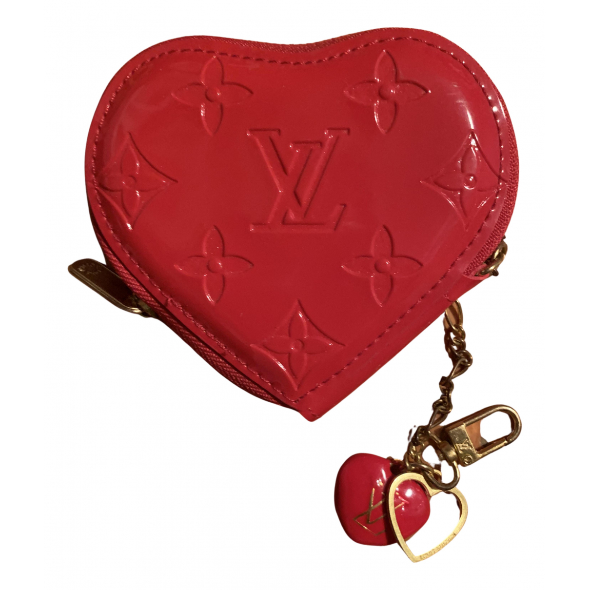 Louis Vuitton N Red Patent leather Purses, wallet & cases for Women N