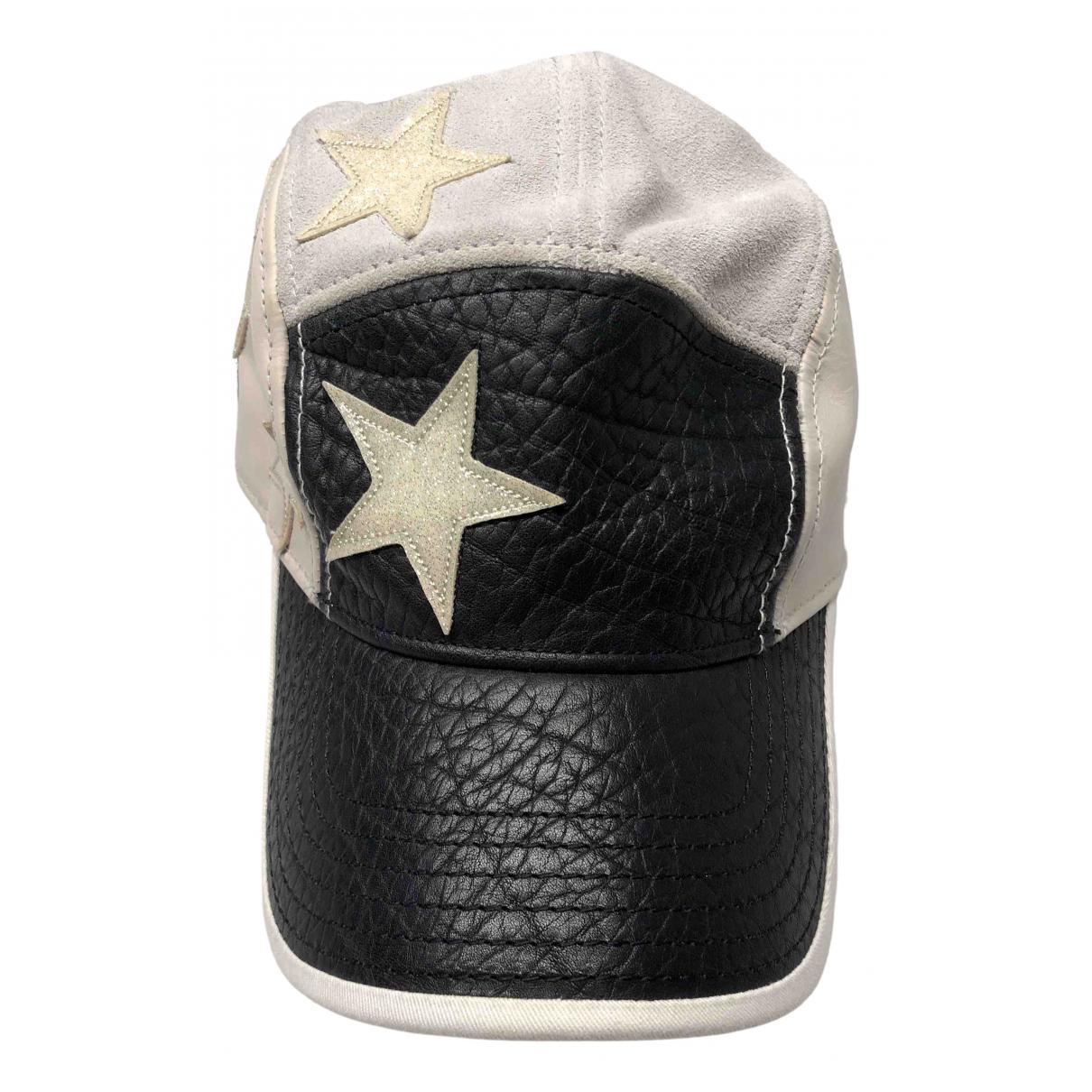 Acne Studios N Grey Leather hat for Women M International