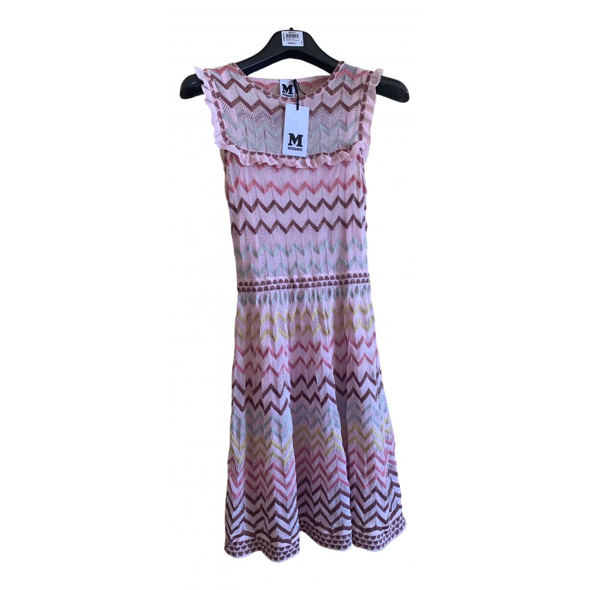 M Missoni \N Kleid in  Rosa Polyester