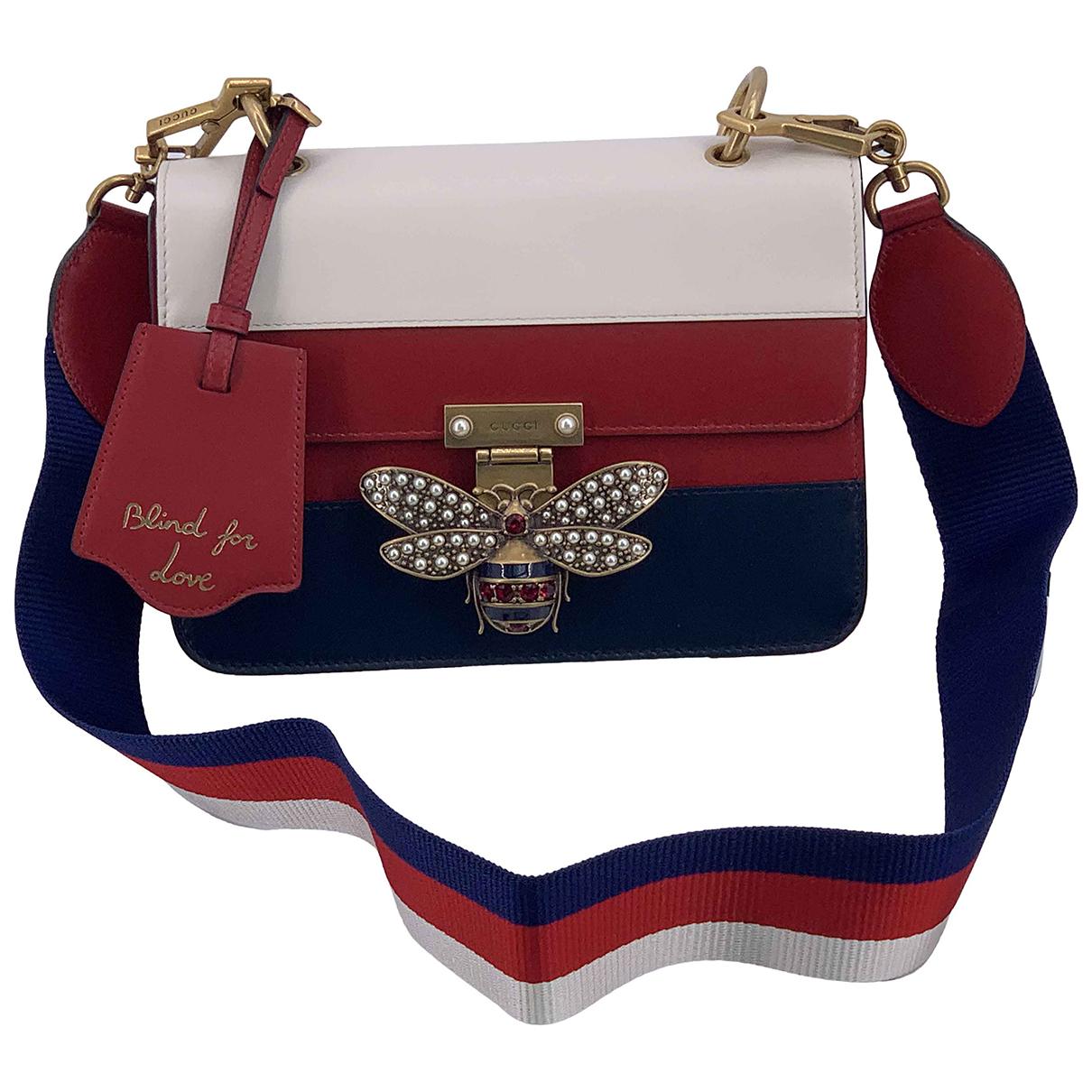 Gucci Queen Margaret Handtasche in  Bunt Leder