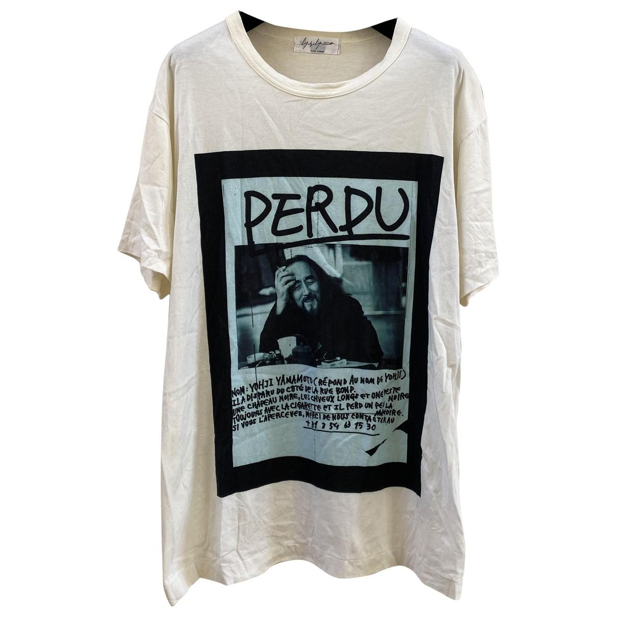 Camiseta Yohji Yamamoto
