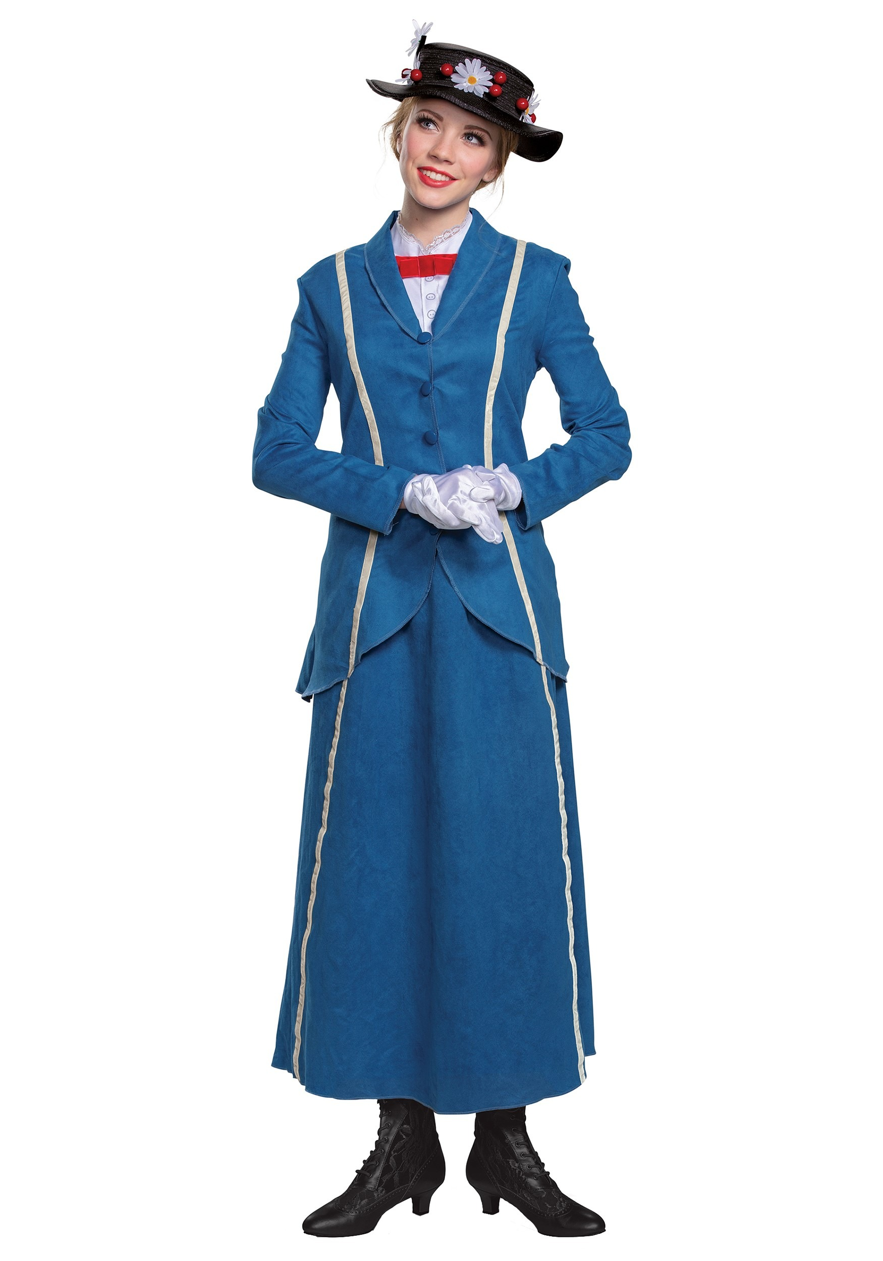 Mary Poppins Women's Blue Coat Costume