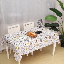 Mixed Pattern Table Cloth