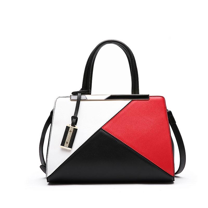 Ericdress Contracted Patchwork Women Handbag