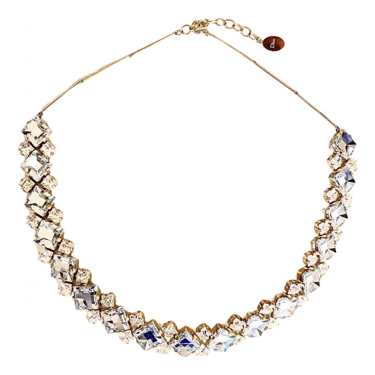 Dior - Collier   pour femme en metal - metallise