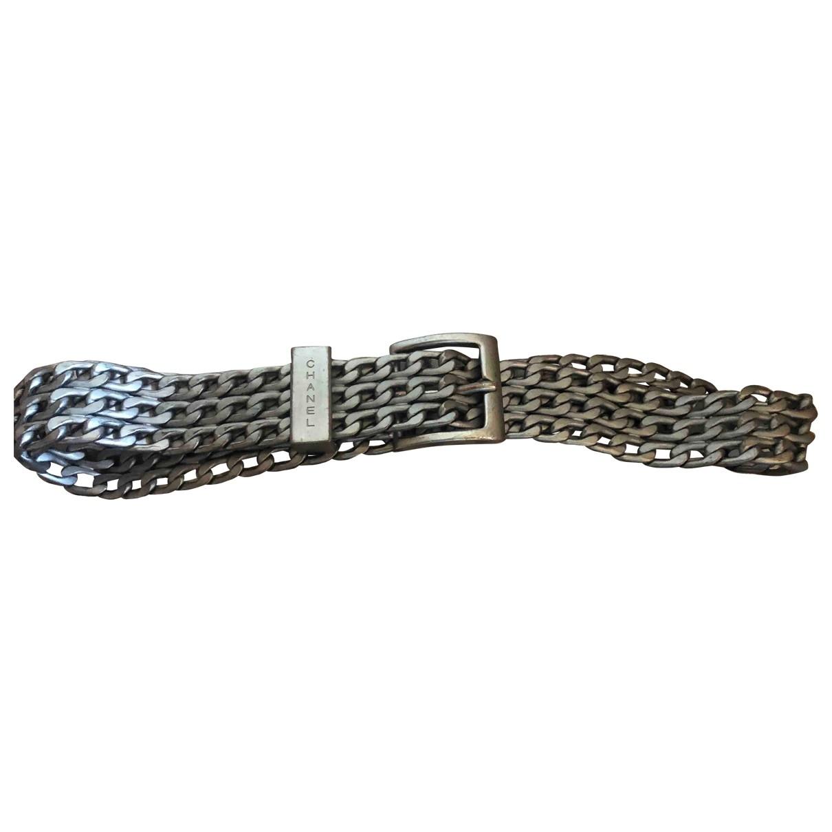 Chanel \N Silver Metal belt for Women S International