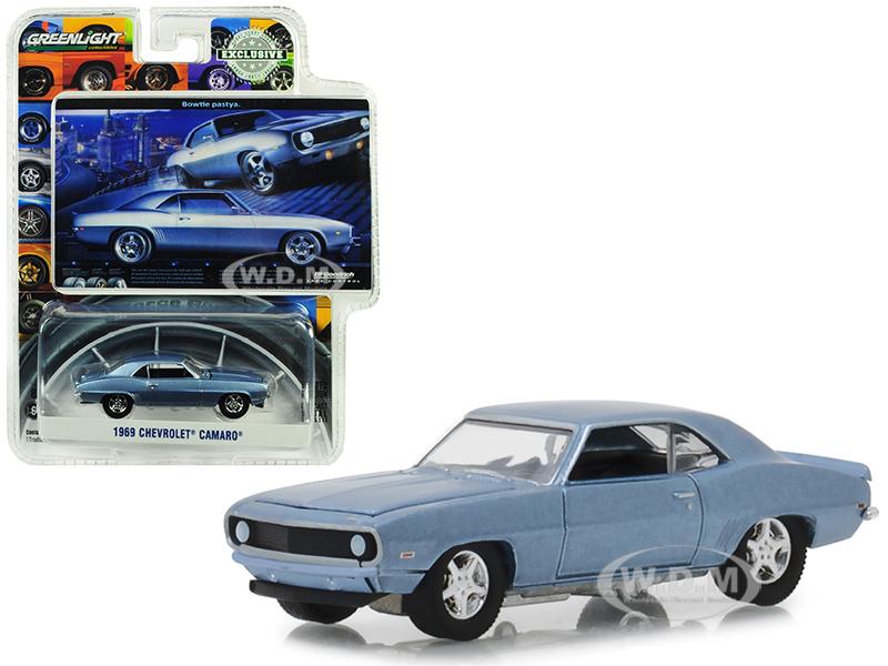 1969 Chevrolet Camaro Steel Blue