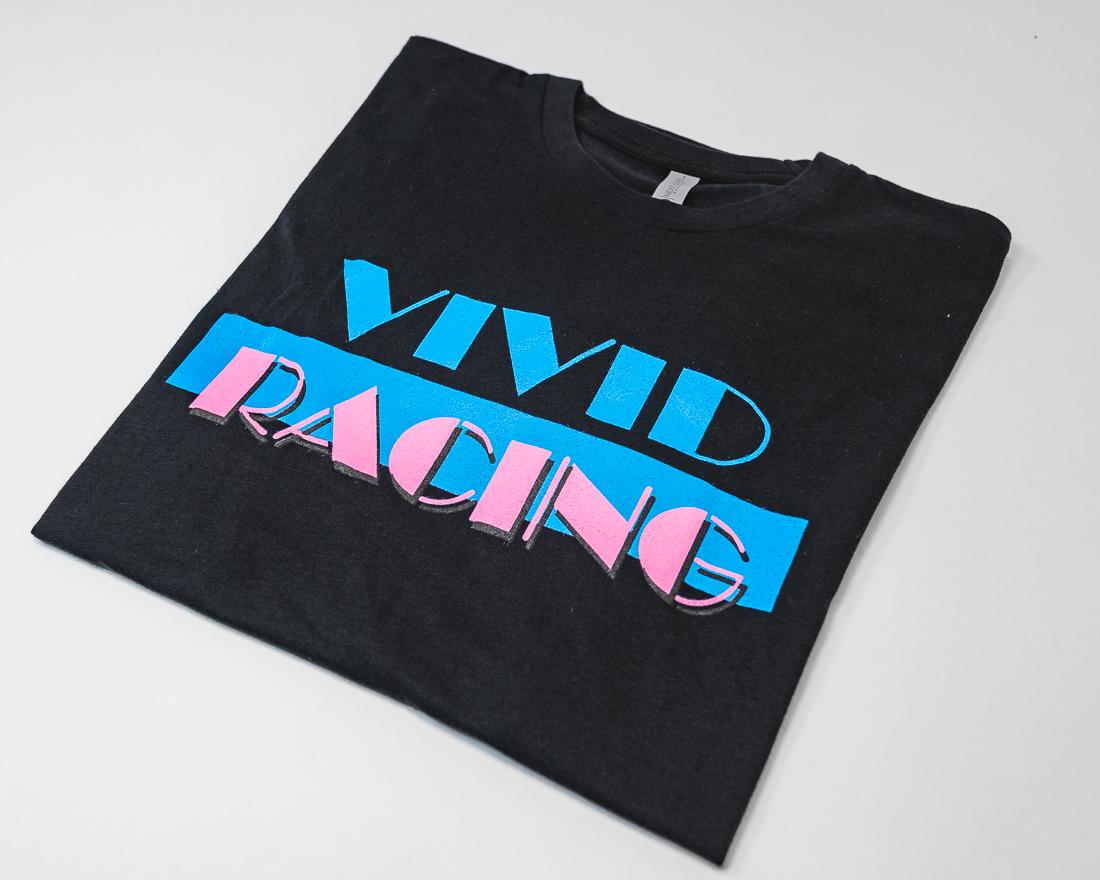 Vivid Racing VR-TSHIRT-MV-BK-S T-Shirt Miami Vice Mens Black