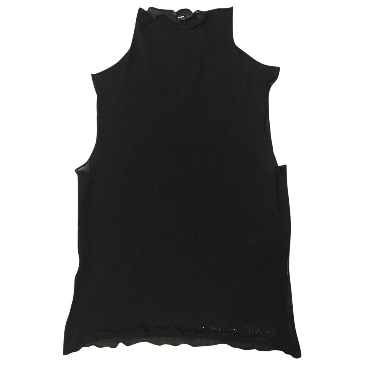 Krizia \N Black  top for Women 40 IT