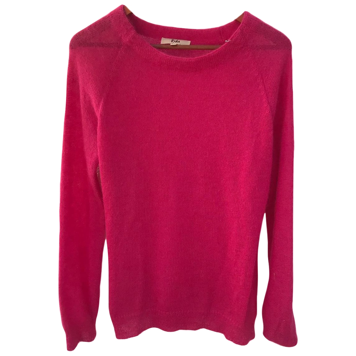Rika \N Pullover in  Rosa Wolle