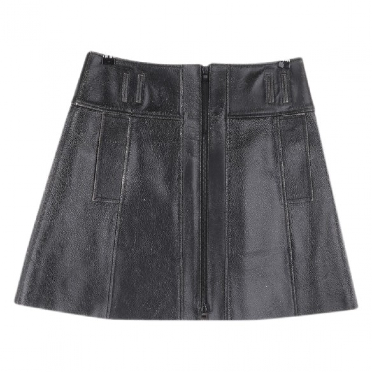 Proenza Schouler \N Black Leather skirt for Women 32 FR