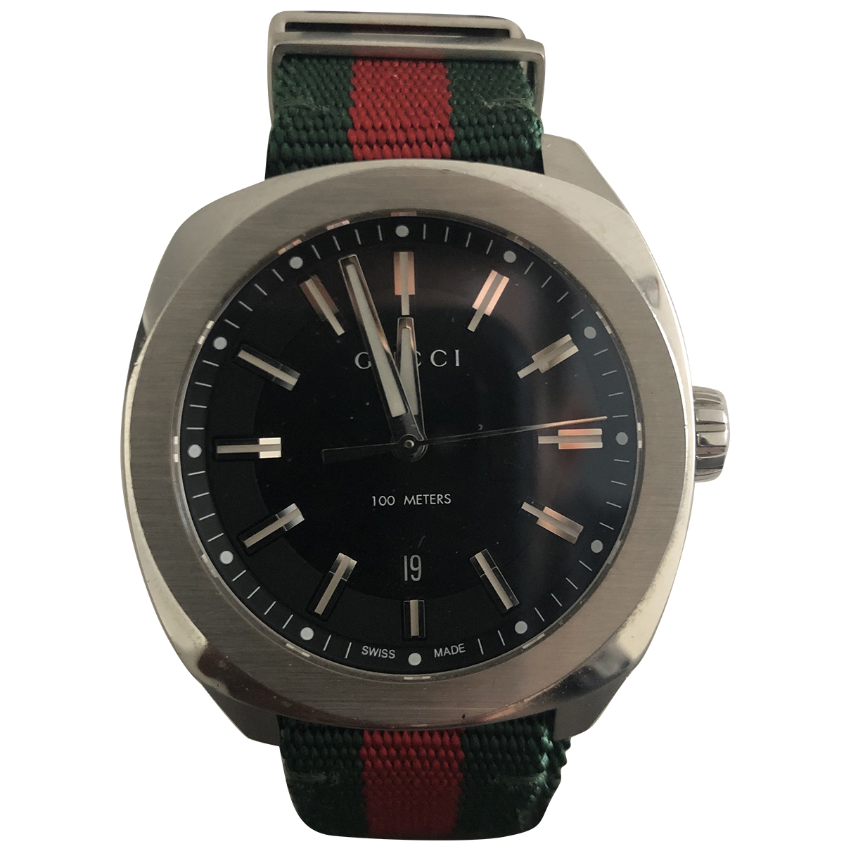 Gucci N Steel watch for Men N