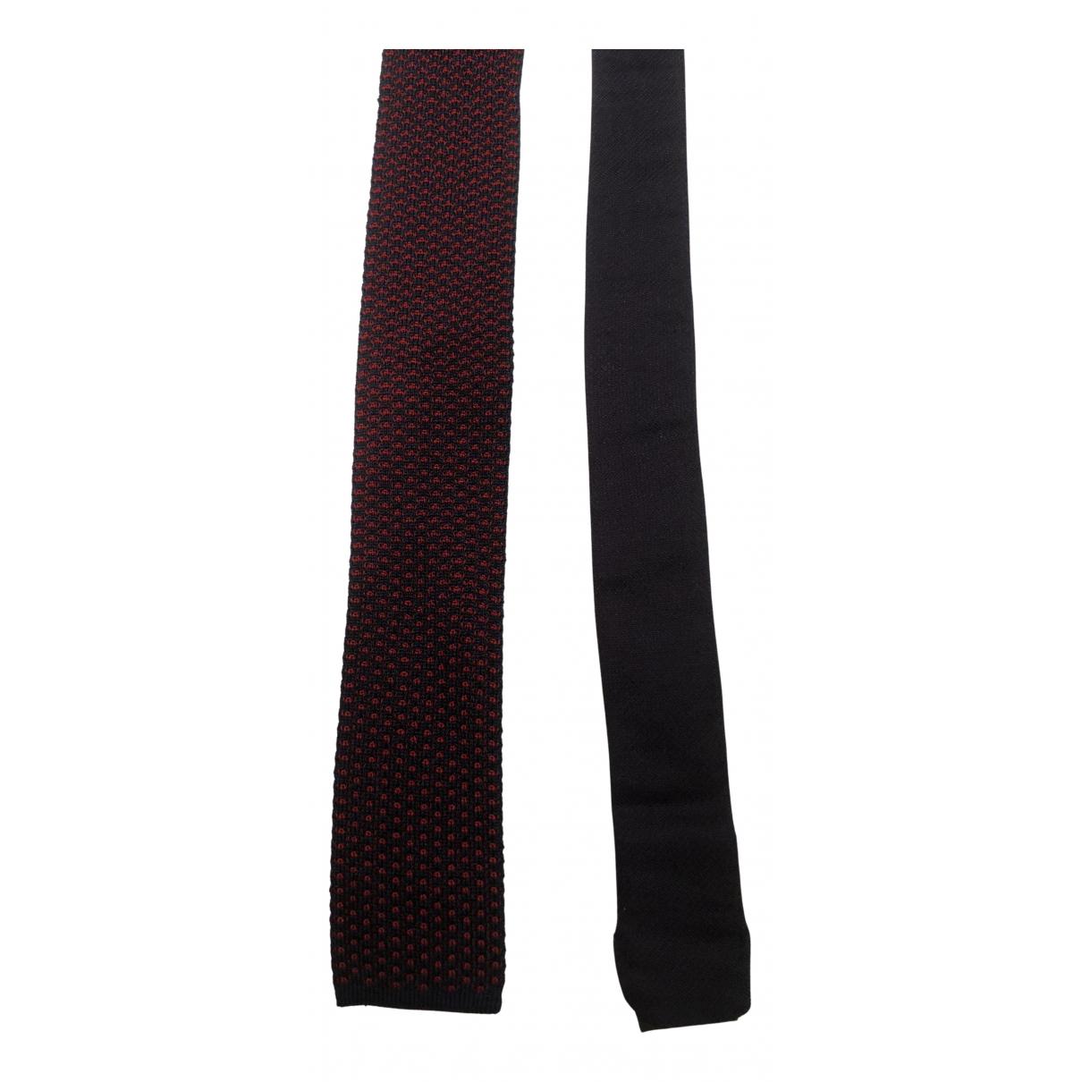 Ermenegildo Zegna \N Krawatten in  Rot Seide