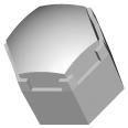 Polymer Optics 141/175, LED Optic & Holder Kit (200)