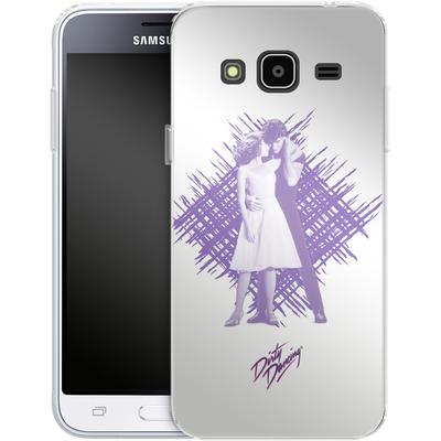 Samsung Galaxy J3 (2016) Silikon Handyhuelle - Purple Dancers von Dirty Dancing®