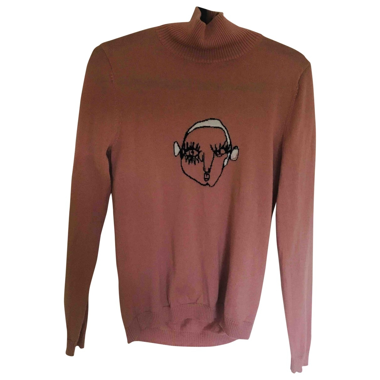 Shrimps \N Pullover in  Rosa Wolle
