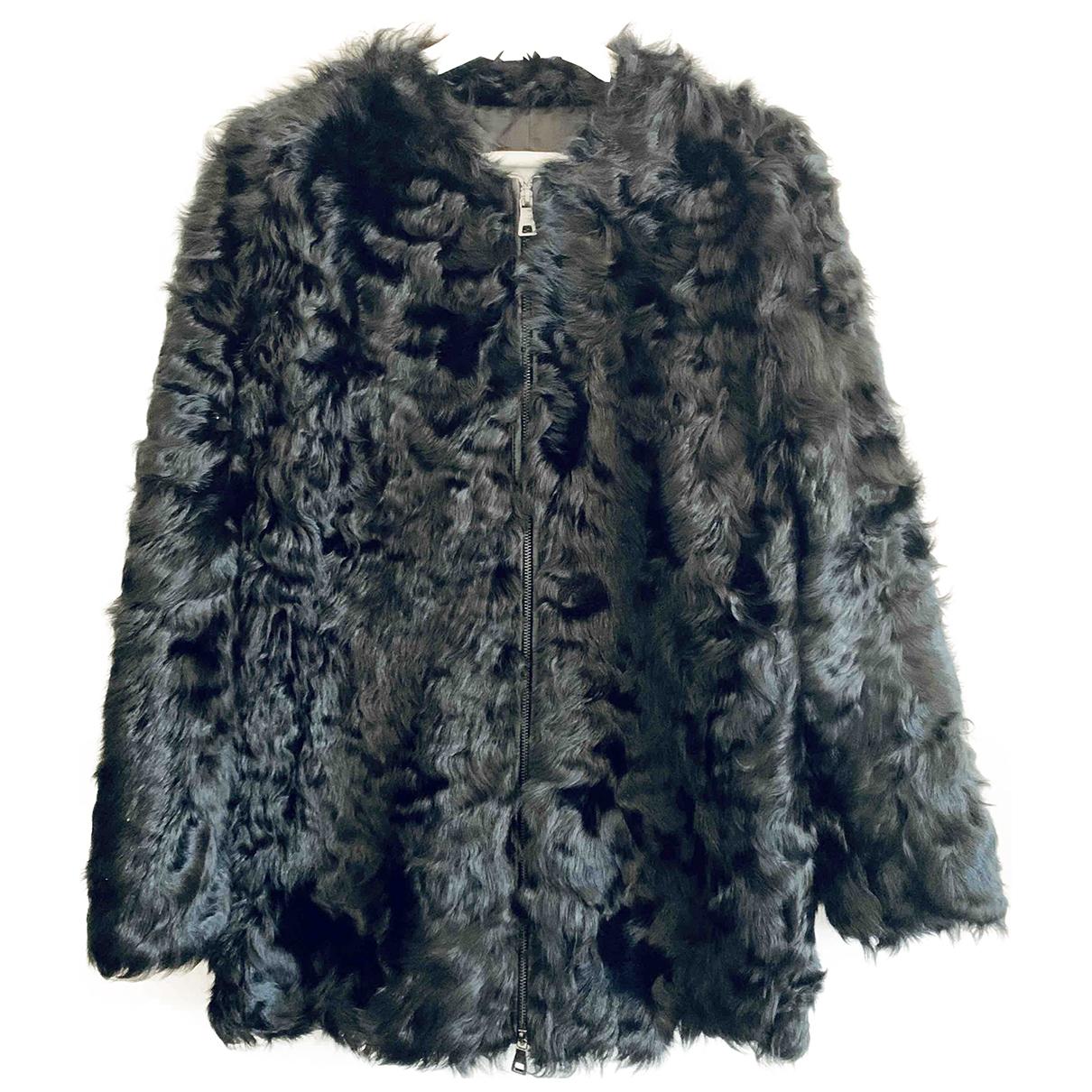 Mango \N Black Fur coat for Women S International