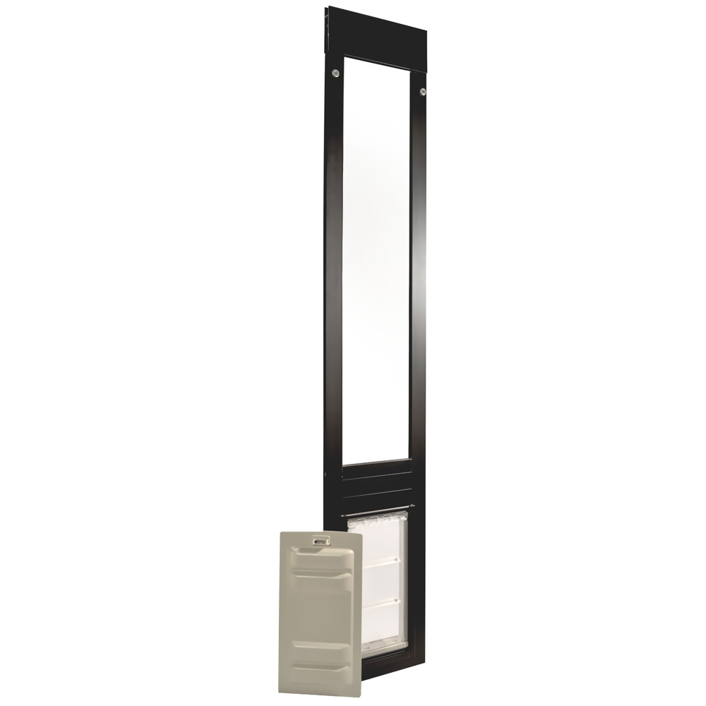 Endura Flap Pet Door - Thermo Panel 3e Bronze Frame - Medium (93.25