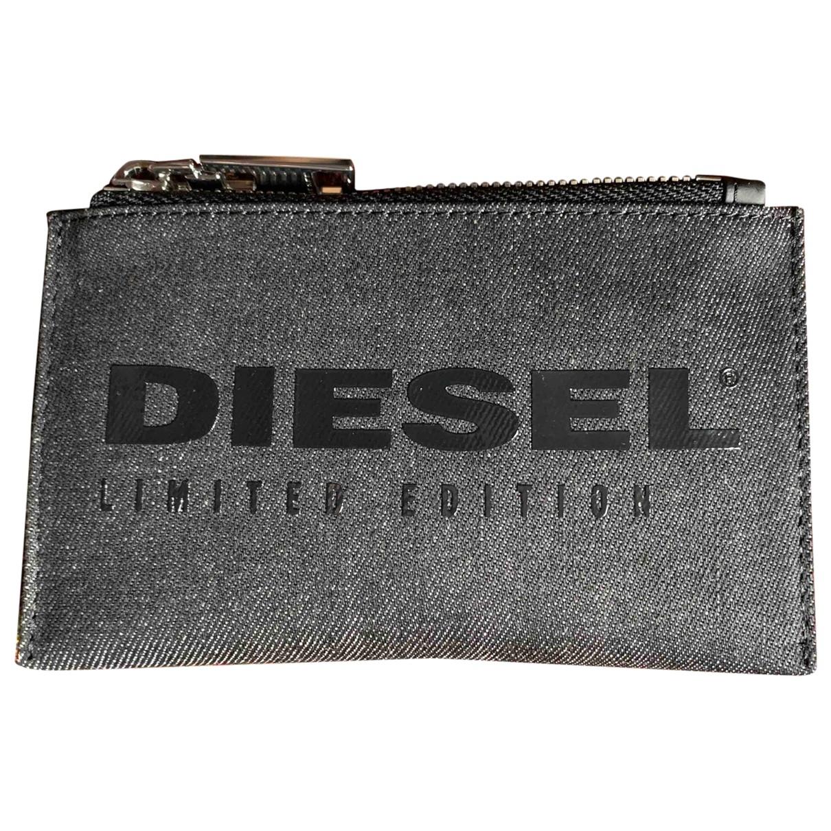 Diesel - Petite maroquinerie   pour homme en denim - bleu