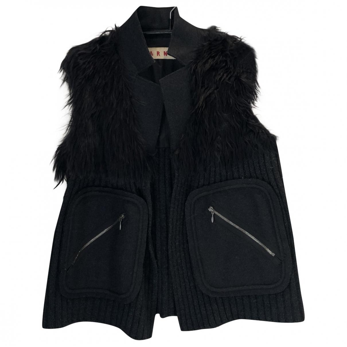 Marni \N Grey Fur jacket for Women 38 IT