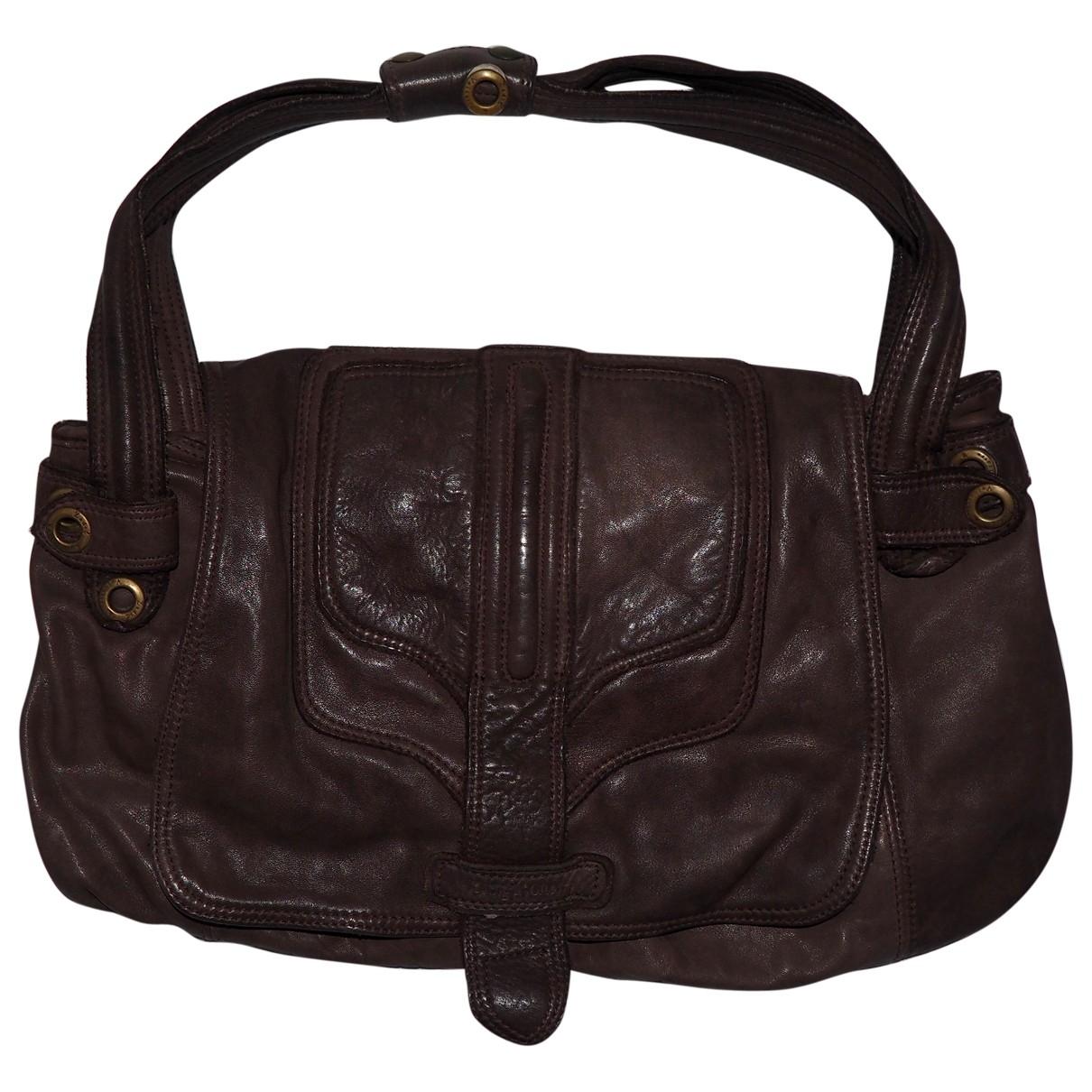 Zadig & Voltaire - Sac a main   pour femme en cuir - marron