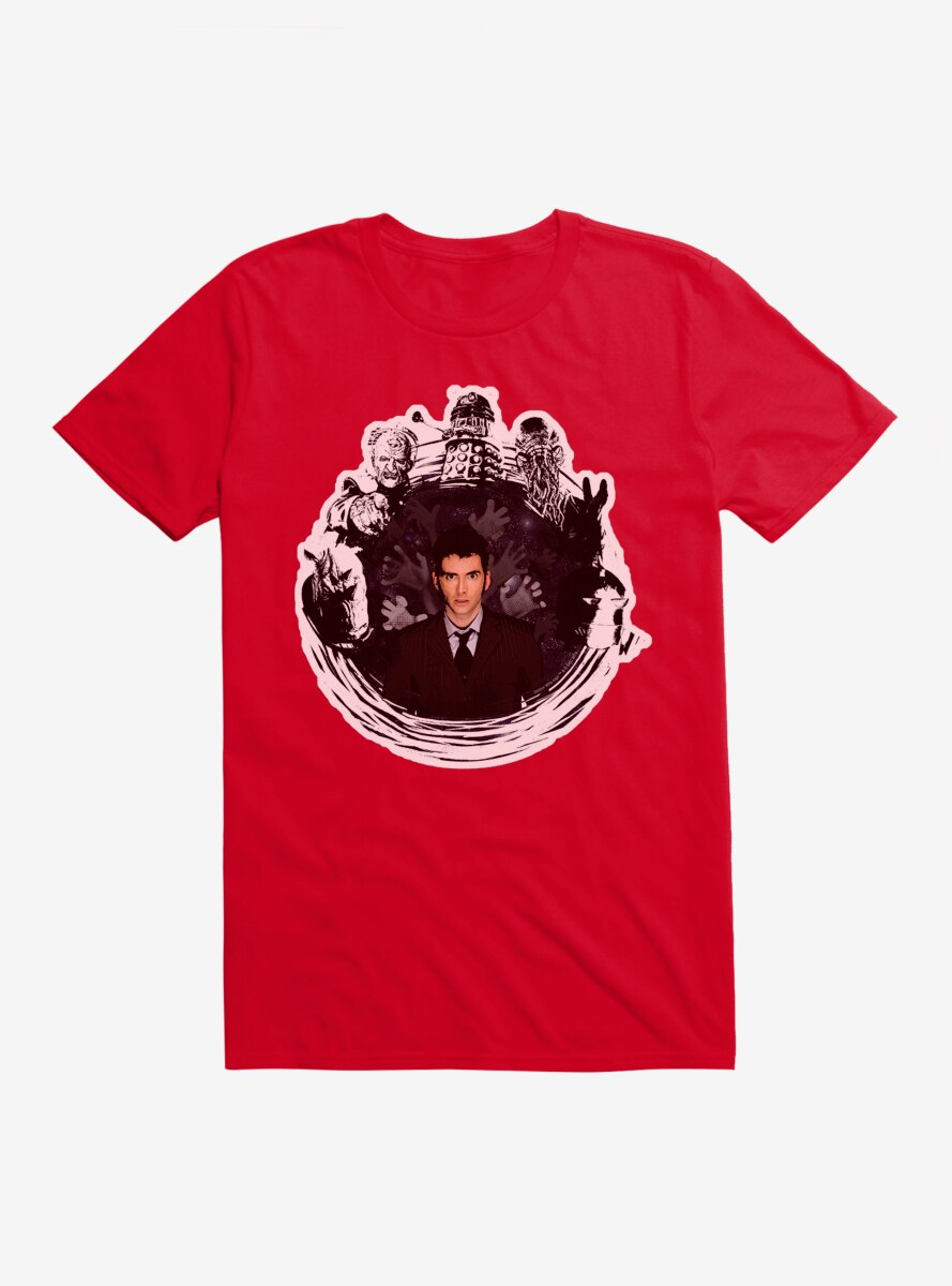 Doctor Who Villains After Doctor T-Shirt