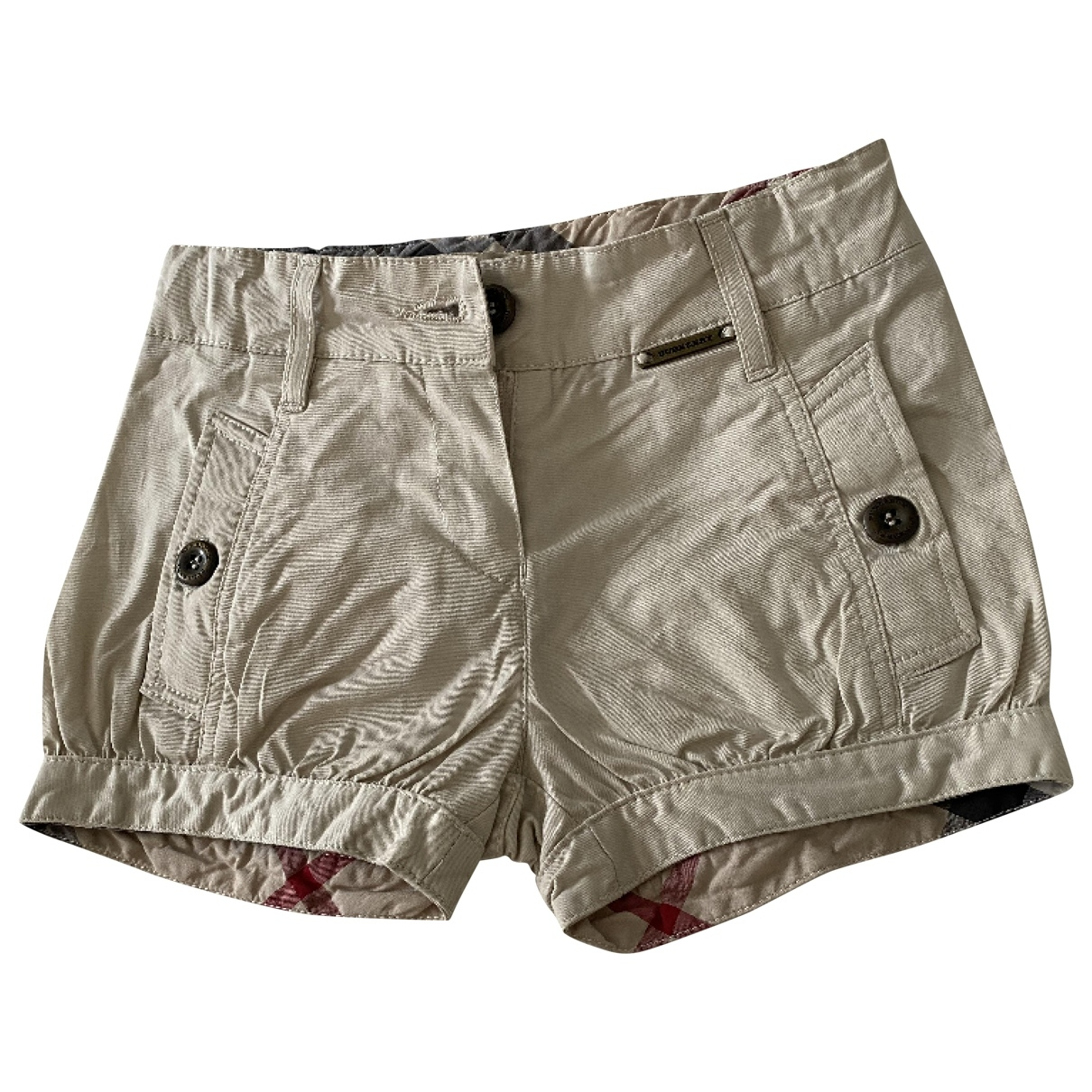 Burberry \N Shorts in  Beige Baumwolle