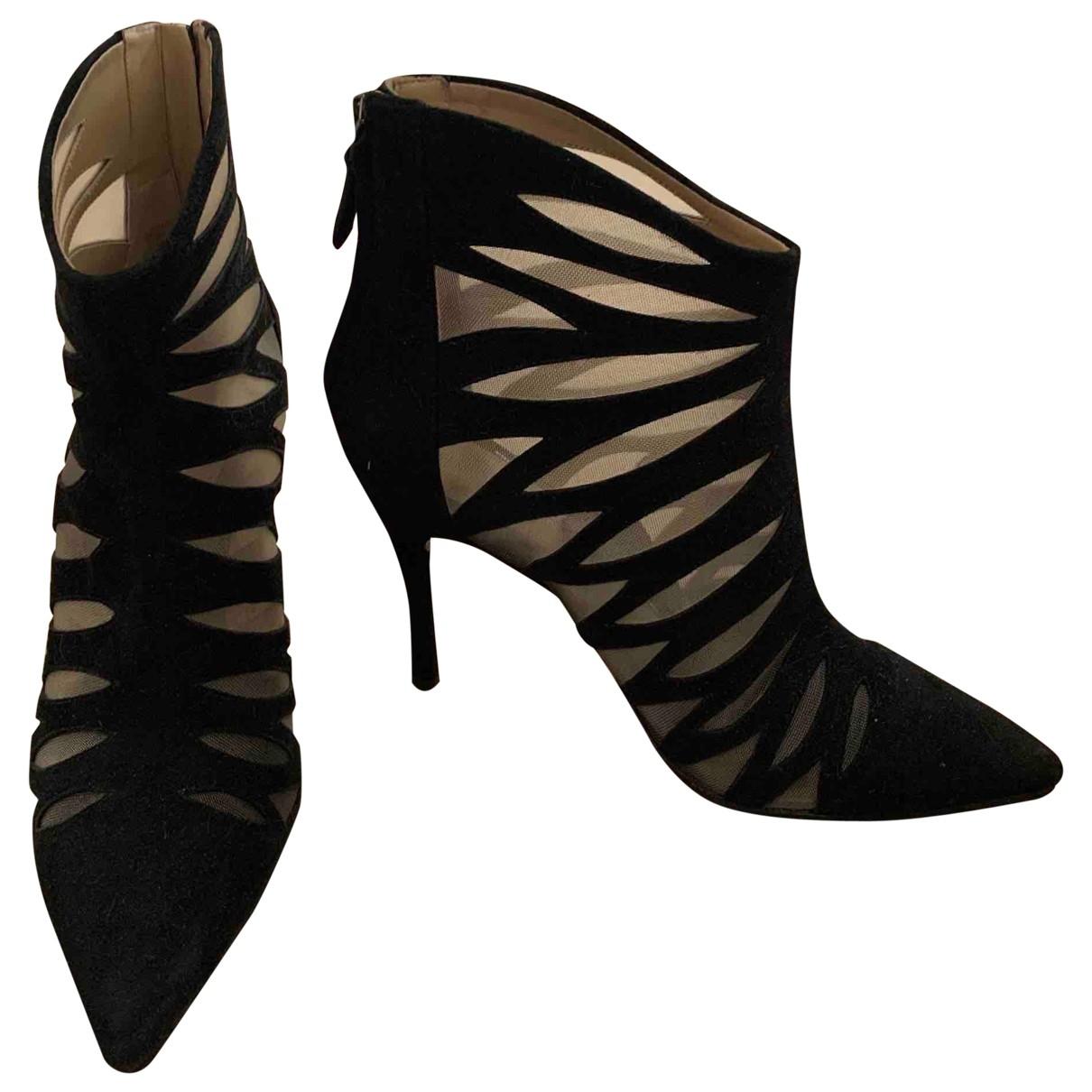 Stella Luna - Boots   pour femme en suede - noir