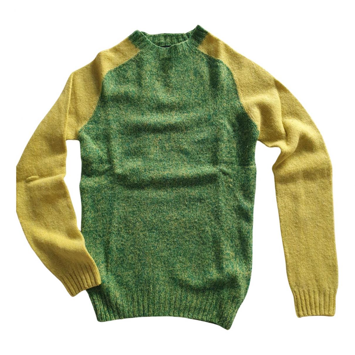 Howlin \N Pullover in  Gruen Wolle