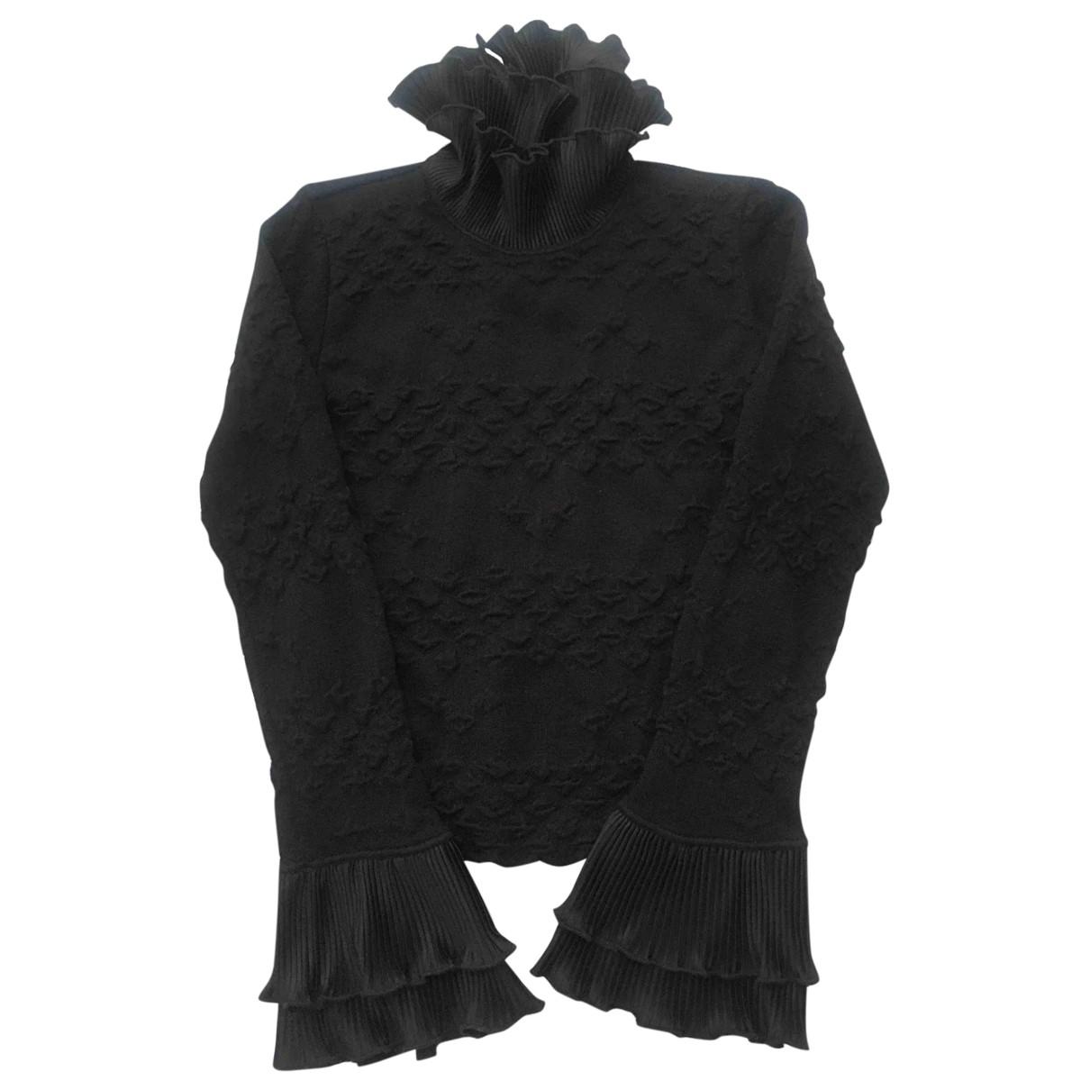 Emporio Armani \N Black Wool Knitwear for Women 42 IT