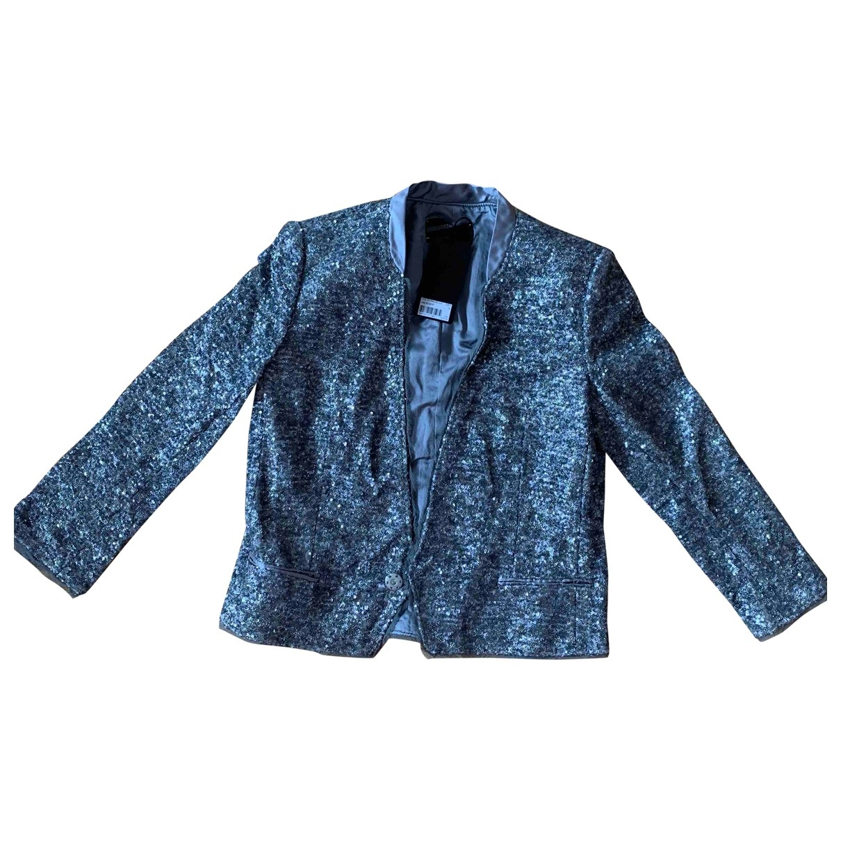 Zadig & Voltaire \N Grey Glitter jacket for Women 36 FR