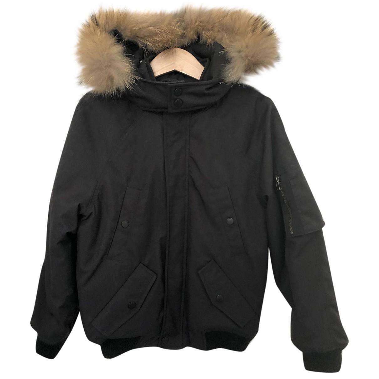 Bonpoint - Blousons.Manteaux   pour enfant - noir
