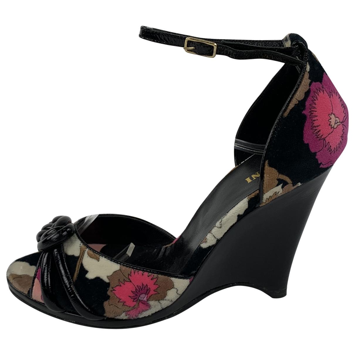 Missoni \N Multicolour Cloth Heels for Women 5.5 UK