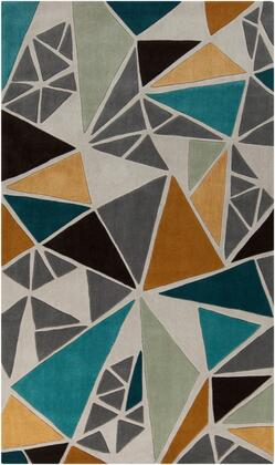Cosmopolitan COS-9199 5 x 8 Rectangle Modern Rug in
