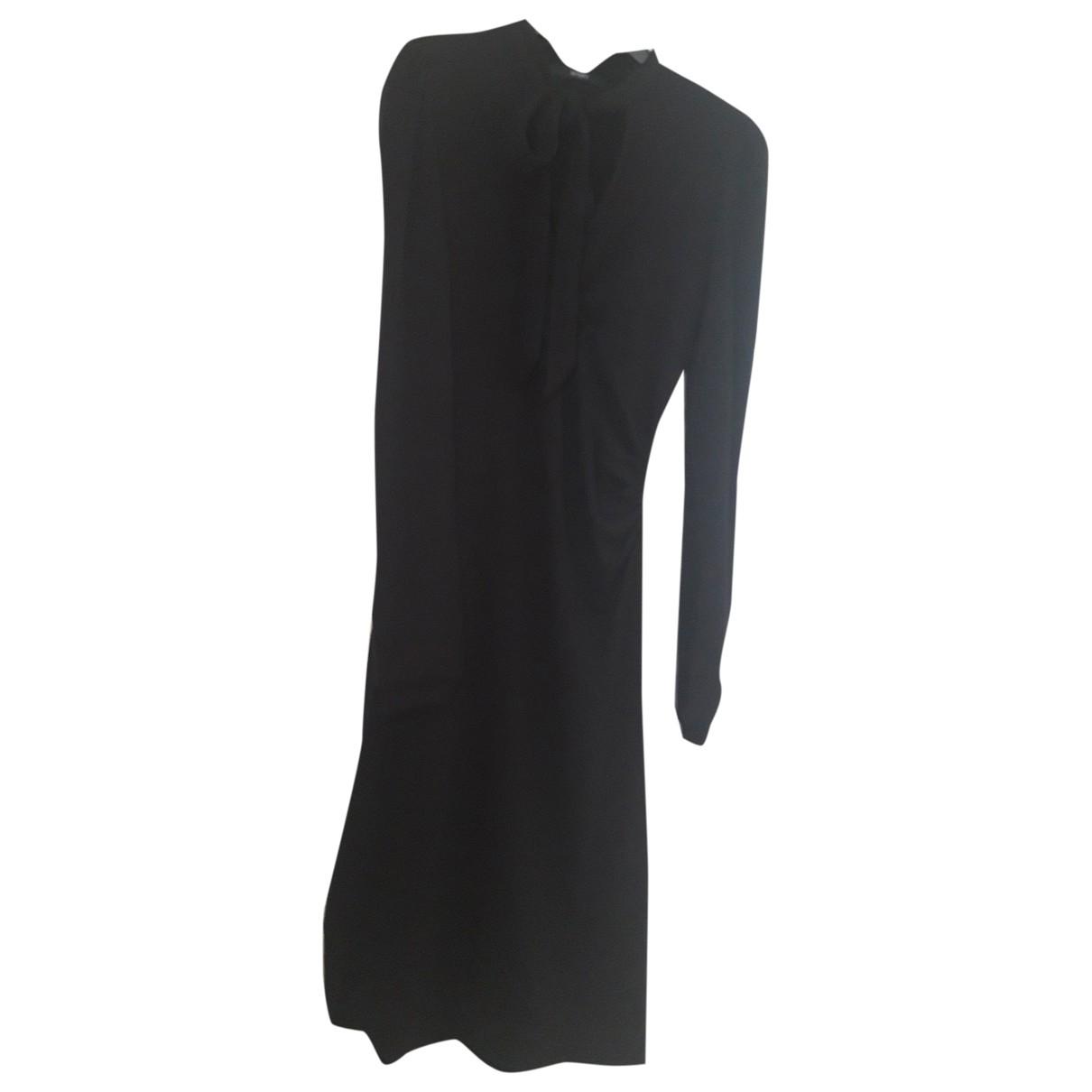 Seventy \N Kleid in  Schwarz Wolle