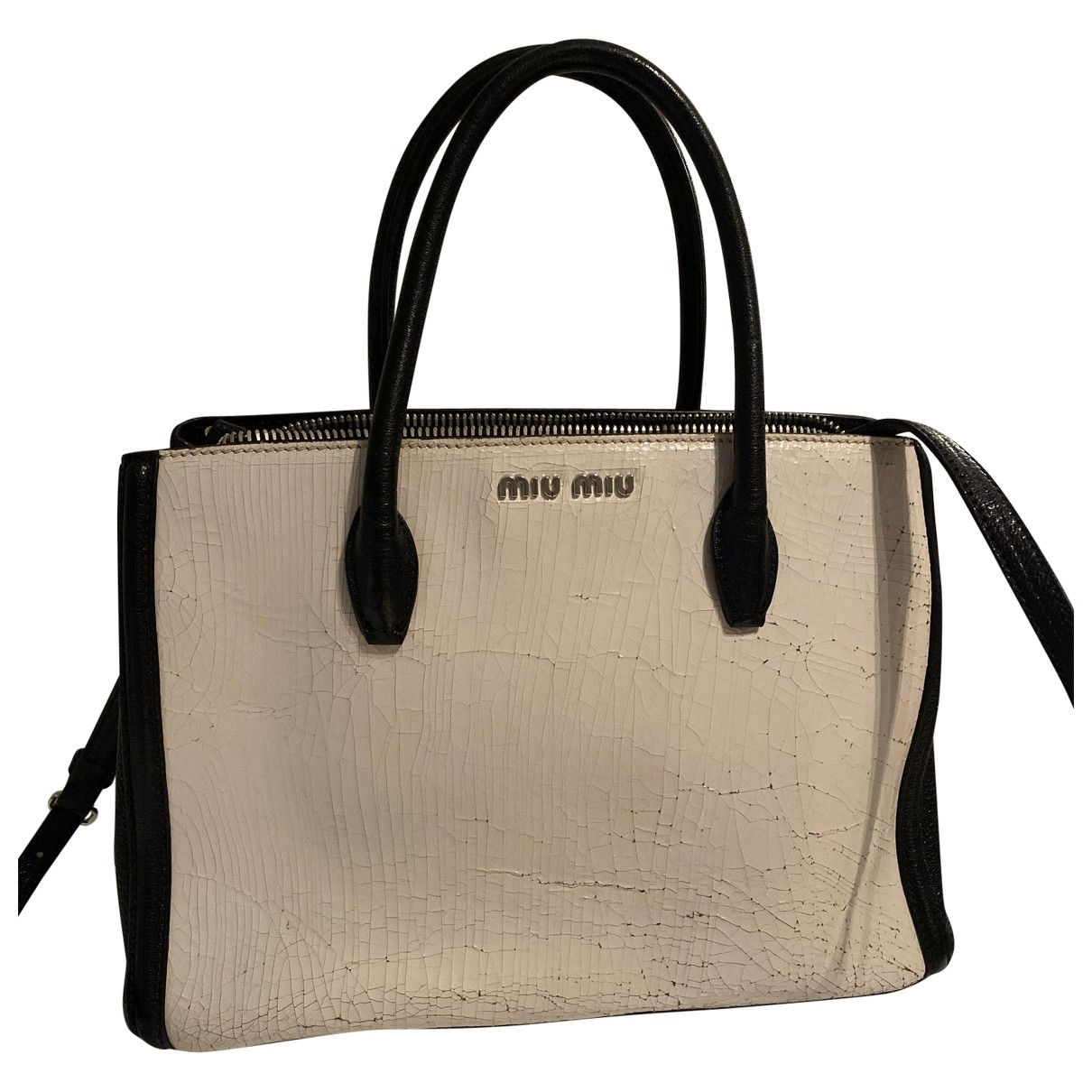 Miu Miu \N White Leather handbag for Women \N