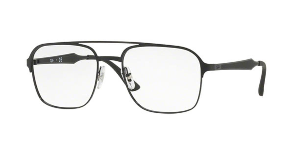 Ray-Ban RX6404 2944 Men's Glasses Black Size 54 - HSA/FSA Insurance - Blue Light Block Available