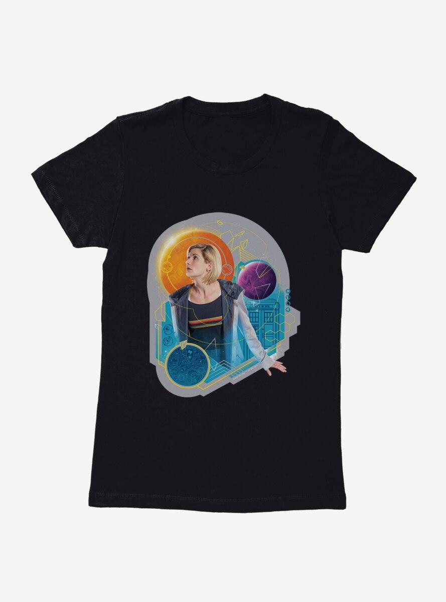 Doctor Who The Thirteenth Doctor Galaxy Womens T-Shirt
