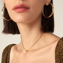 Halskette mit Ball Anhaenger