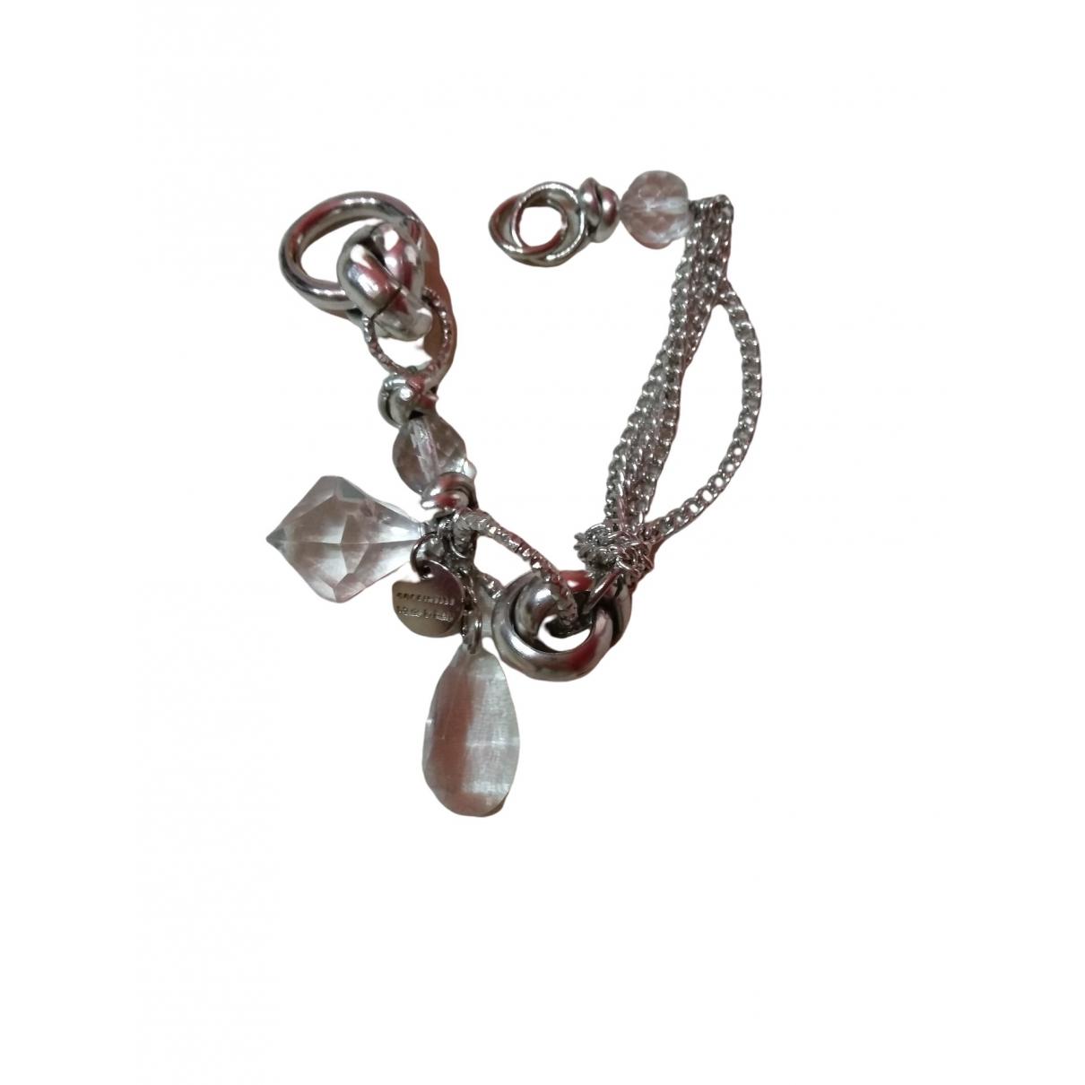 Coccinelle - Bracelet   pour femme en metal - argente